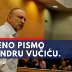 Otvoreno pismo Dragana Đilasa Aleksandru Vučiću