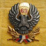 63. padobranska brigada je ratovala uvek tamo gde je bilo najteže